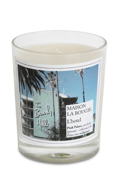 l 39 hotel candle scented candle by maison la bougie luckyscent. Black Bedroom Furniture Sets. Home Design Ideas