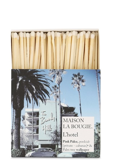 L'Hotel Matches Matches  by Maison La Bougie