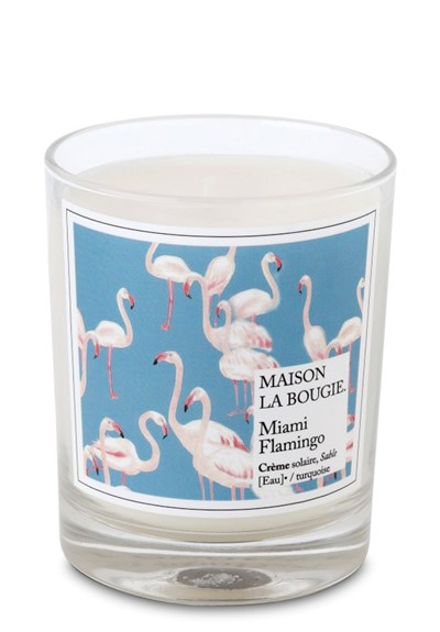Miami Flamingo  Scented Candle  by Maison La Bougie