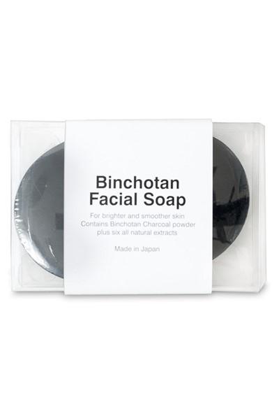 Binchotan Charcoal Facial Soap Bar Soap  by Morihata